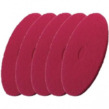 Pad czerwony 5 sztuk do BD 43/25 C i BD 43/35 C- 432 mm